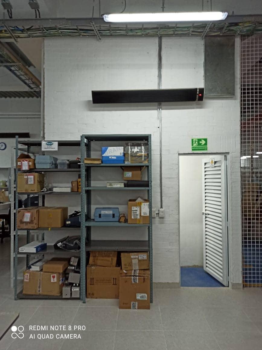 corporativo interior calefaccion por radiacion infrarrojos irradiant colombia